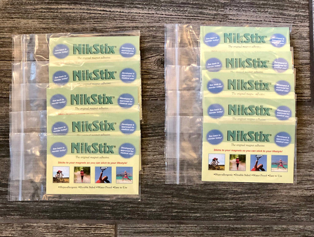 Includes 10 packages of Nikstix