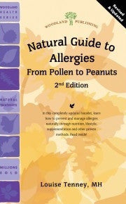 2144	 - A Natural Guide to Allergies from Pollen to Peanuts by Louise Tenney MH