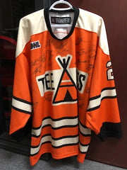 St. Catharines Teepees Game-Issued Jersey