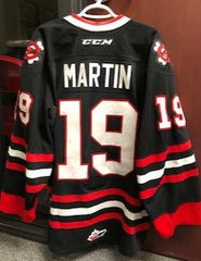 2018/2019 Black Game-Worn Jersey