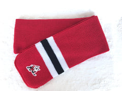 Adult Red Hockey Sock Scarf