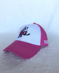 Bardown Pink/White Adult BB Hat