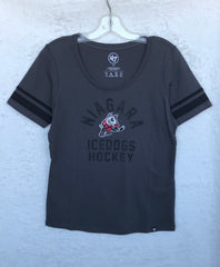 Ladies Charcoal Grey T-Shirt