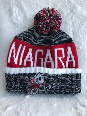 Bardown Dark Salt and Pepper Pom Toque