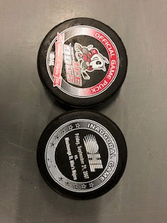 Inaugural 2007/2008 Official Game Puck