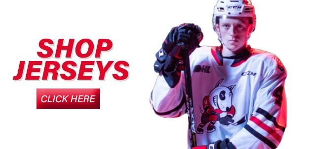 New IceDogs Jerseys for 2015/16