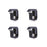 AA-Racks 4 Pcs Truck Cap Camper Shell Mounting Clamps Chevy GMC Dodge Ford F150 250 350  (P-AC-08) - AA Products Inc