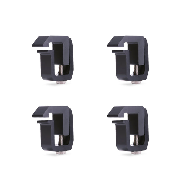AA-Racks 4 Pcs Truck Cap Camper Shell Mounting Clamps Chevy GMC Dodge Ford F150 250 350  (P-AC-08)
