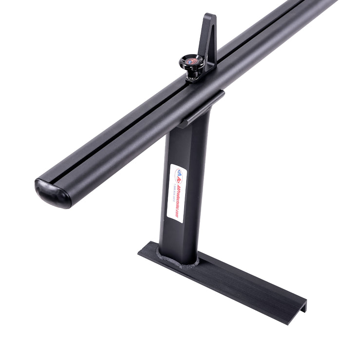 AA-Racks Low-profile Utility Aluminum Pick-Up Truck Ladder Rack with Load Stop (APX2502) - AA Products Inc