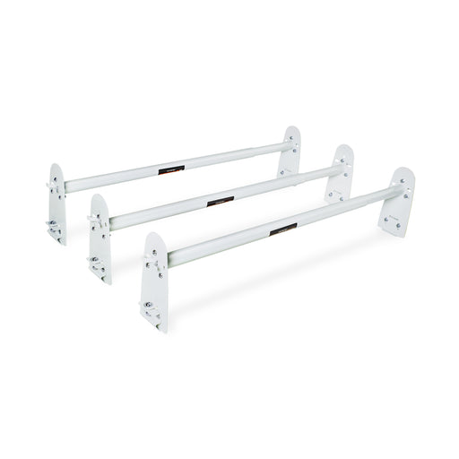 AA-Racks Universal Van Roof Ladder Rack Adjustable Rooftop Cargo Luggage Carrier Rack Ford Dodge Chevy - (X316) - AA Products Inc