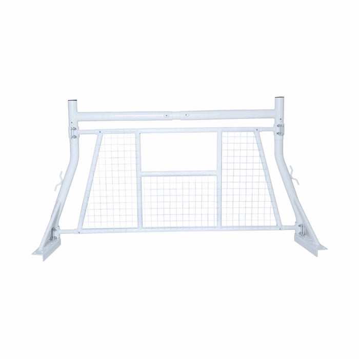AA-Rack Adjustable Headache Rack Single Bar Extendable Pick-up Truck Rack with Protective Screen Set (X35-A-W) - AA Products Inc