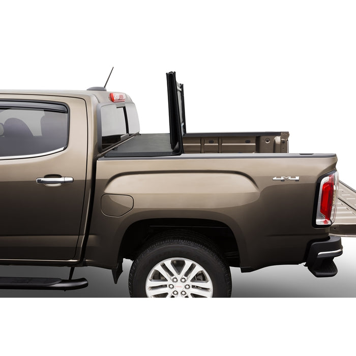 AA Products Soft Tri-Fold Truck Bed Tonneau Cover Works with 2014-2019 Silverado/Sierra 1500; 2015-2018 Silverado Sierra 2500 3500 HD | Fits 6.5' Bed (TC-ST-CS/GS-6.5(14-19) - AA Products Inc