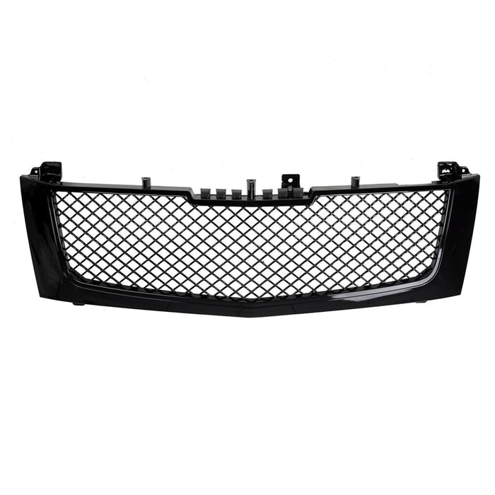 AA Products 2002-2006 Cadillac Escalade Luxury Sport Mesh ABS Replacement Front Grille with Shell (FG-CE(02-06)-01-BLK) - AA Products Inc