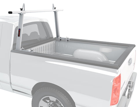 AA-Racks Universal No Drill Aluminum Ladder Rack Single Bar Pickup Truck Racks Lumber Kayak Utility - (APX25-A)