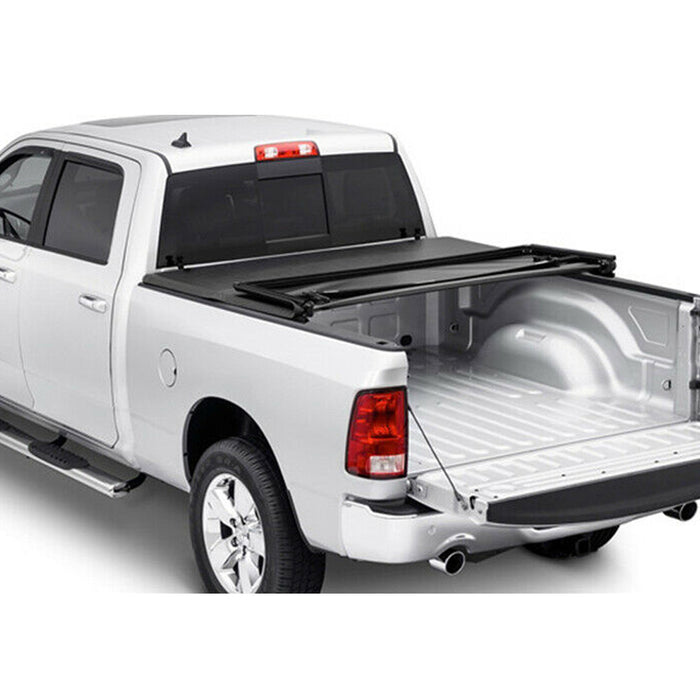 AA Products Soft Tri-Fold Truck Bed Tonneau Cover Compatible Toyota Tacoma 2016 up to 2018 | Fits 5' Bed 6' Bed (TC-ST-TA(16-19) - AA Products Inc