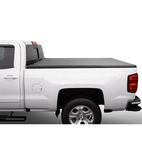 AA Products Soft Tri-Fold Truck Bed Tonneau Cover Compatible Toyota Tacoma 2005 up to 2015 | Fits 5' Bed (TC-ST-TA-5(05-15) - AA Products Inc