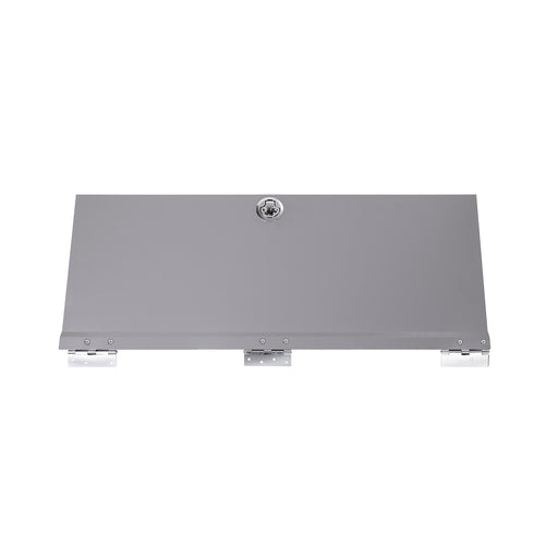 "AA Products Door Kit For SH-4603(32"" W * 46"" H) Shelf Unit Shelf Accessories Grey (P-SH-4603DK) - AA Products Inc"