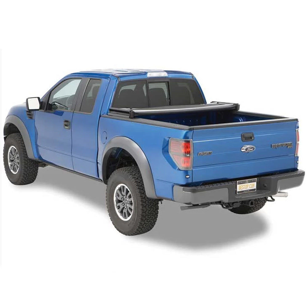 Bestop Inc. EZ- Fold Tonneau Cover- Black (BES16113-01) - AA Products Inc