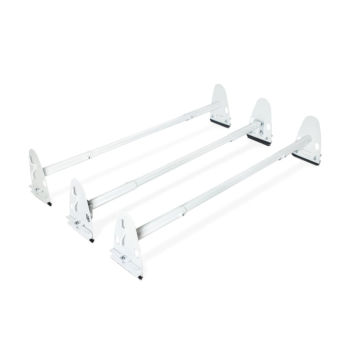 AA-Racks Universal Cargo Van Roof Ladder Rack Heavy Duty Car Top Luggage Utility Carrier Rack Steel - (X37) - AA Products Inc
