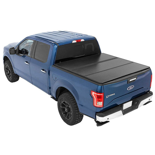 Aa Products Hard Tri Fold Truck Bed Tonneau Cover Compatible Ford F 150 Excl Raptor Series 2009 Up To 2014 Fits 5 5 Bed 6 5 Bed Tc Ht F150 09 14 Aa Products Inc