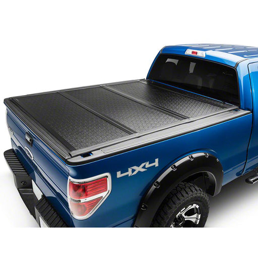 AA Products Ultra Flex Hard Folding Truck Bed Tonneau Cover Compatible Ford F-150 2015 up to 2019 | Fits 5.5' Bed 6.5' Bed (TC-HF-F150(15-18) - AA Products Inc
