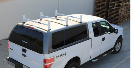 AA-Racks Universal Drilling Cargo Van Roof Rack Heavy-Duty Adjustable Steel Roof Ladder Rack (DX36)