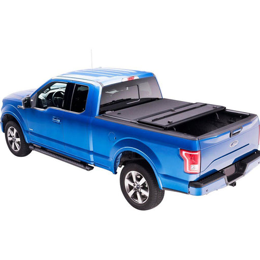 AA Products Hard Tri-Fold Truck Bed Tonneau Cover Compatible Ford F-150 2015 up to 2019 | Fits 5.5' Bed 6.5' Bed (TC-HT-F150(15-18) - AA Products Inc