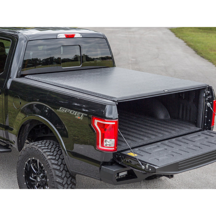 AA Products Soft Roll Up Truck Bed Tonneau Cover Works with 2002-2019 Ram 1500 (2019 Classic ONLY); 2003-2018 Ram 2500 3500 | Fits 6.5' Bed | Without Ram Box (TC-RO-RAM-6.5(02-18) - AA Products Inc