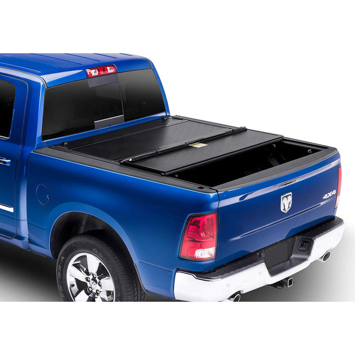 AA Products Ultra Flex Hard Folding Truck Bed Tonneau Cover Compatible Dodge Ram 1500 (2019 Classic ONLY) 2009 up to 2019 | Fits 5.8' Bed | Without Ram Box (TC-HF-RAM1500-5.8(09-18) - AA Products Inc