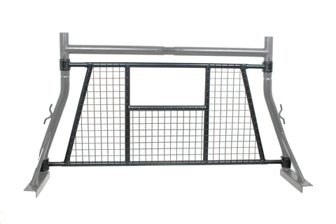 AA-Racks Mesh Protective Screen Set for Basic Truck Rack Headache Rack -Black/ White (PX35-W)