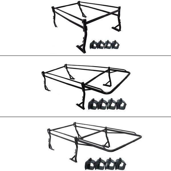Pickup Truck Racks With Mounting Clamps
