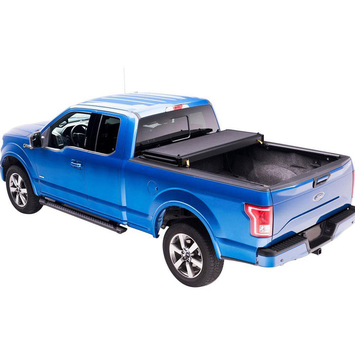 AA Products Hard Tri-Fold Truck Bed Tonneau Cover Compatible Ford F-150 2015 up to 2019 | Fits 5.5' Bed 6.5' Bed (TC-HT-F150(15-18) - AA