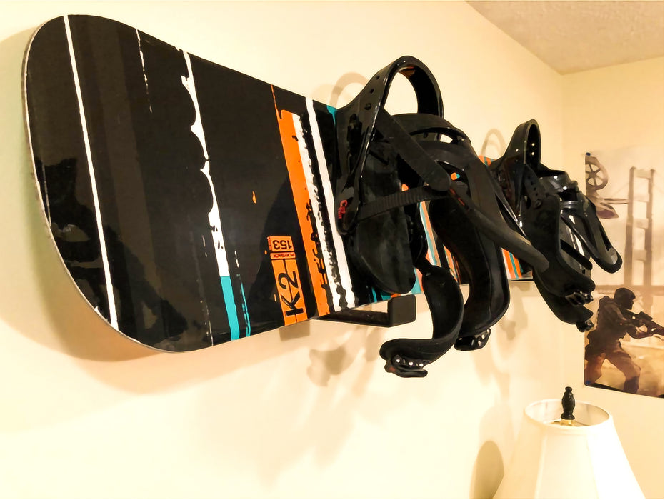 AA Products A Couple of  Aluminium Snowboard Display Wall Mount Rack (SWM-A1) - AA Products Inc