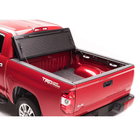AA Products Ultra Flex Hard Folding Truck Bed Tonneau Cover Compatible Toyota Tundra 2014 up to 2019 | Fits 5.5' Bed (TC-HF-TD-5.5(14-19) - AA Products Inc