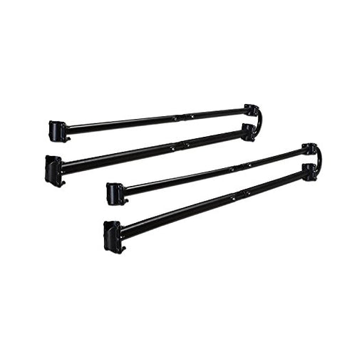 AA-Racks Adjustable Side bar with No Cab. Extension for Basic 2 Bar Pickup Truck Ladder Rack - (P39-B-BX2) - AA Products Inc