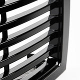 AA Products 2009-2014 Ford F150 Badgeless Horizontal Style Front Hood Bumper Grill Grille ABS OE Replacement (FG-F150(09-14)-05-BLK)