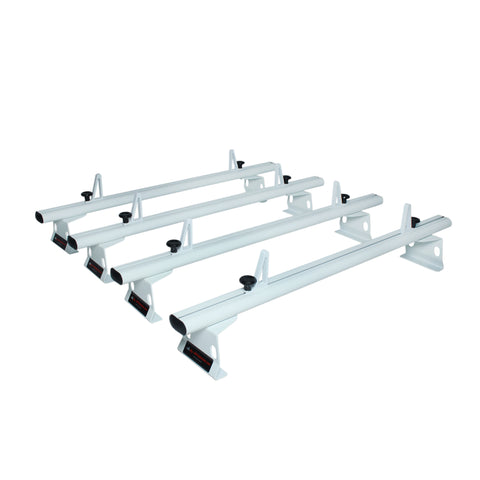 AA-Racks Aluminum Van Roof Rack System with Load Stop Utility Carrier Rack (Fits: Transit 2015-On) (AX302-72-TR)
