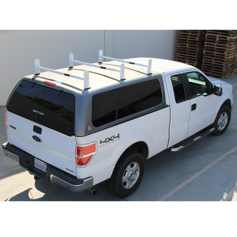 AA-Racks Universal Pickup Truck Rack Cap & Topper Camper Shell Van Roof Ladder Rack Adjustable Steel (DX36-Camper)