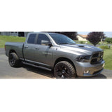 "AA Products Fit 2009-2018 Dodge Ram 1500 & 2010-2018 Dodge Ram 2500/3500 Crew Cab Pickup 4"" Oval Side Step Rails Nerf Bars Running Boards (RB-RAM-CC(09-18)-C) - AA Products Inc"
