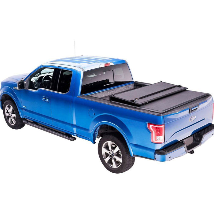 AA Products Hard Tri-Fold Truck Bed Tonneau Cover Works with 2014-2018 Chevy Silverado/GMC Sierra 1500, 2019 Silverado Legacy/Sierra Limited | Fits 5.8' Bed (TC-HT-CS/GS1500-5.8(14-19) - AA Products Inc