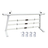 AA-Racks Aluminum Headache Rack Semi Pickup Truck Ladder Rack with Cross Bar Window Guard Protective Back Rack (Fits: Toyota Tacoma 2016-On) - (APX25-A-WG-TA)