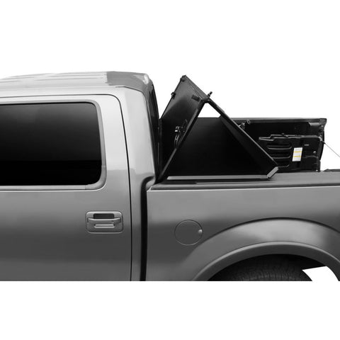 AA Products Hard Tri-Fold Truck Bed Tonneau Cover Works with 2002-2019 Ram 1500 (2019 Classic ONLY); 2003-2018 Ram 2500 3500 | Fits 6.5' Bed | Without Ram Box (TC-HT-RAM-6.5(02-18) - AA Products Inc