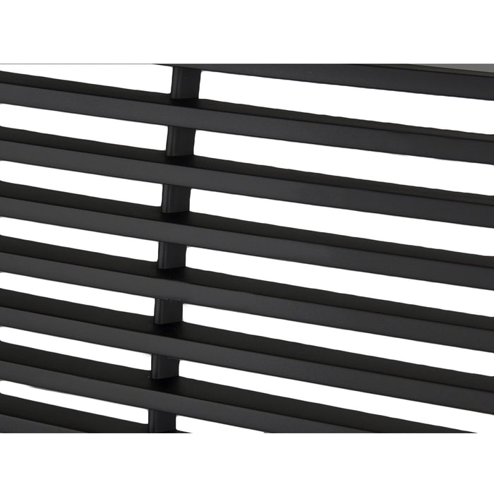 AA Products 1999-2002 Chevy Silverado 1500 2500 / 2000-2006 Tahoe/Suburban Horizontal Style Front Hood Bumper Grill Grille (FG-CS(99-02)-02-BLK) - AA Products Inc