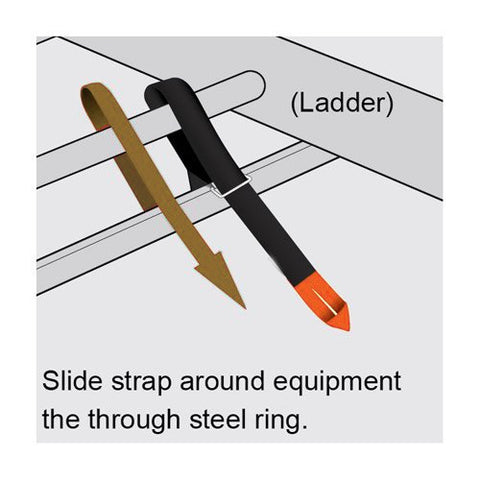AA Products Touch Fastener Straps Adhesive Double Side Tape Extension Universal Straps with Loop (VS)