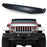 AA Products Light Brow Angry Bird Front Grille Look Compatible Jeep Wrangler JK JKU 2007 up to 2019 (BROW-JW(07-18)-BLK) - AA Products Inc