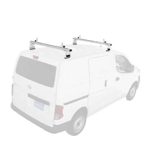 AA-Racks Model AX302-NV Nissan NV200(2013-On) Aluminum Van Roof Rack System With Ladder Stopper (AX302-50/60-NV-Parent)