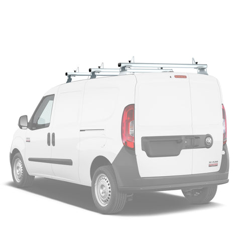 AA-Racks Model AX302-PR RAM ProMaster City 2015-On Aluminum Van Roof Rack System With Ladder Stopper (AX302-50/60-PR-Parent)