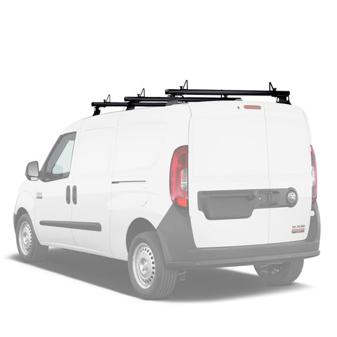 AA-Racks Aluminum Van Roof Ladder Rack with Load Stop Rooftop Cargo Carrier Rack (Fits:RAM ProMaster City 2015-On) (AX302-PR(CT)) - AA Products Inc