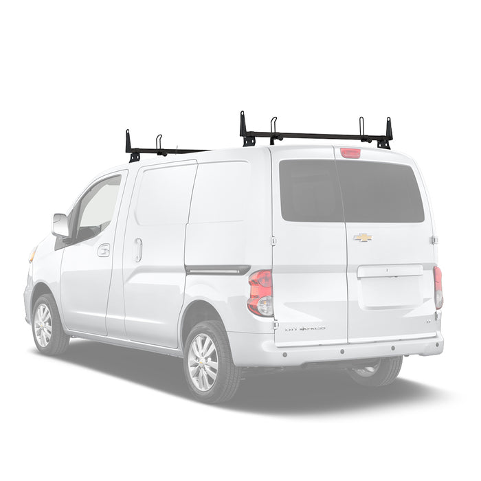 AA-Racks Removable Van Roof Racks Heavy Duty Steel Cross Bar for Chevy City Express 2013-2017 (X202-CH) - AA Products Inc