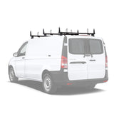 AA-Racks Steel Cargo Van Ladder Roof Racks for Mercedes-Benz Metris 2014-On (X202-ME) - AA Products Inc